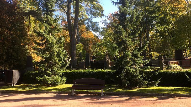 Kuvituskuva Hieteniemen hautausmaa
