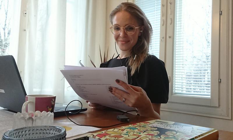 Espanjan tuntiopettaja Laura Pallari